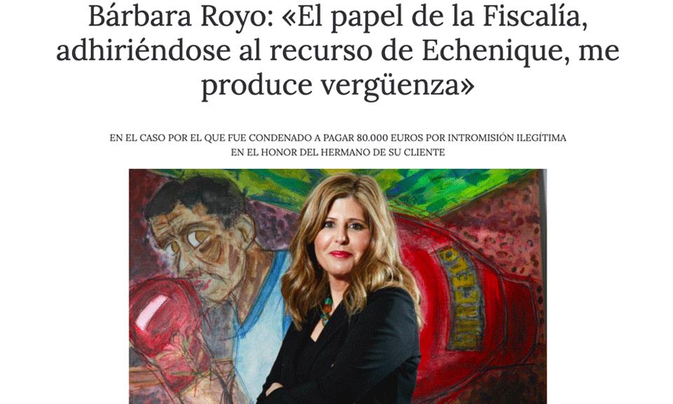 Los malos del cuento Bárbara Royo